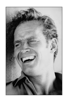 Charlton Heston. Met him in a Rich's store in Atlanta. I bought his book. Journal. He signed it for me. I was first in line, so he took the time to talk to me. Nice man.