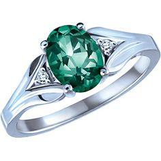 Emerald ring. Love it.