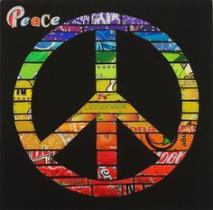 jill helms recycled peace sign.