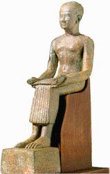 Imhotep, arquitecto, médico y dios