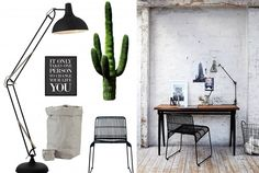 Stijlkaart: Een fijne werkplek! | Stek Magazine | House Doctor | UASHMAMA | XLlamp | Office