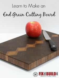 Wood Whisperer Cutting Board Plans