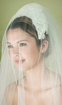 Vintage Bridal Veil by laplumecouture on Etsy