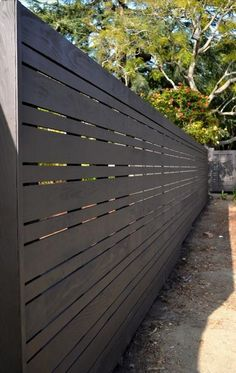 Stunning Tips: Fencing Ideas For Yard Privacy Fence Kickboard.Modern Fence Panels For Sale Wooden Fence Modern.Modern Fence Design In Nigeria. Modern Fence Design, Wood Fence Design, Privacy Fence Designs, Privacy Fences, Modern Wood Fence, Privacy Screens, Garden Privacy, Wood Fences, Backyard Privacy