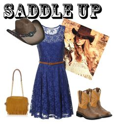 Saddle up by milkdud123 on Polyvore featuring polyvore, fashion, style, Alice & You, Ariat, Burberry and saddleup
