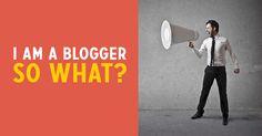 I am a #blogger