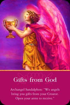 Archangel Sandalphon Gifts from God