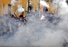 Battle of Cherasco (Piedmont) #festivals #events #piemonte #italy #provinciadicuneo