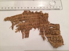 eBay item number:222124472712 Greek-Roman Or Coptic Rare Egyptian PAPYRUS TEXT FRAGMENTS Material:ancient papyrus text Provenance:FOR STUDY PURPOSE ebuyerrrr Starting bid $ 1,500 22/5/2016