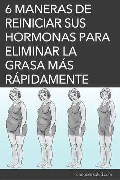 6 maneras de reiniciar sus hormonas para eliminar la grasa más rápidamente #salud