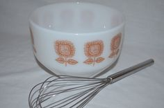 Federal Mixing Bowl 1 1/2 qt  White Milk by SuperiorVintageGoods