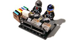 I Want These Daft Punk Lego Minifigs More Than Their New Album