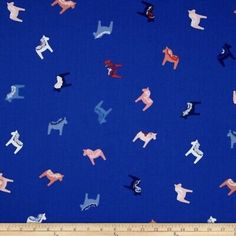 """Find many great new & used options and get the best deals for Art Gallery Fabrics Scandinavian """"DALA"""" HORSE Fabric Blue 100% Quilt Cotton NEW at the best online prices at eBay! Free shipping for many products! Fjord Horse, Horse Fabric, Free Studio, Art Gallery Fabrics, Cotton Quilts, Fabric Panels, My Animal, Blue Backgrounds, Stamping"""