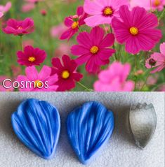 Flower making made easy Edible Diamonds, Food Coloring, Flower Making, Easter Eggs, Make It Simple, Cake Decorating, Colours, Candy, Crystals