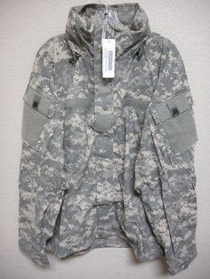ACU GEN III ECWCS, LEVEL 5 JACKET, SOFT SHELL, COLD WEATHER, SMALL LONG *NWT*