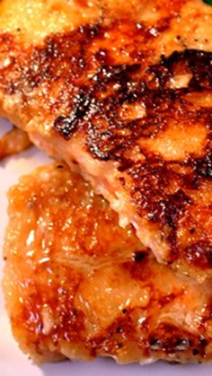 Honey Lime Crusted Salmon ~ A  honey lime marinade for salmon plus a crusted flour coating that makes this a tender sweet salmon for dinner