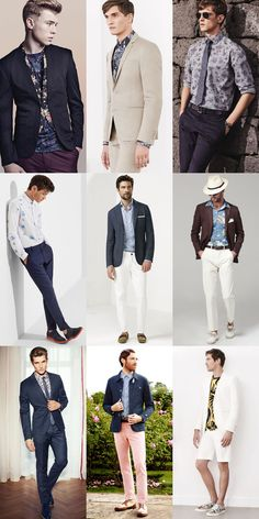 Men's 2014 Spring/Summer on How To Wear Florals: A Refined Take Lookbook Inspiration