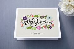 Minted Daisy Chain Thank You Cards