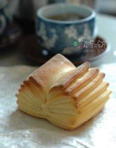 it's actually bread (called (Livre) that are/were sold at a restaurant/bakery called Be (BoulangEpicerie) in Japan. The store was produced by a French chef Alain Ducasse. Would love to know how it's made.