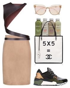 """""""Untitled #278"""" by astrro on Polyvore featuring Y-3, Tom Ford, Lanvin, Chloé, women's clothing, women, female, woman, misses and juniors"""
