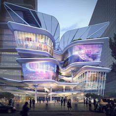 Shenzhen Luoho Friendship Trading Centre by Aedas in China.(2020) #ArchDesigns