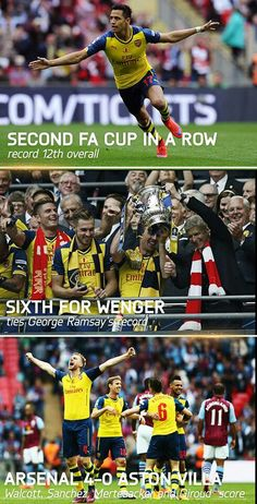 Another record broken! Best Football Players, Football Soccer, Fa Cup 2015, Orlando City, North London, Arsenal Fc, Premier League, Victoria, 4 Life