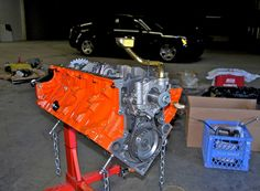 Arrington 440 w/ Dodge Magnum in background