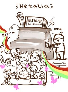 Humorously Hetalia<< That is exactly what it looks like, but it makes history so much better.