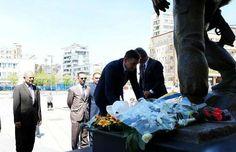 Veseli bëri nderime para shtatores së heroit Zahir Pajaziti