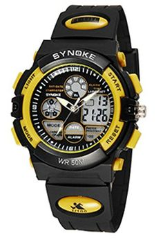 Cool Design Waterproof Wrsit Watches Nice for Sport * Click image for more details. (Note:Amazon affiliate link)