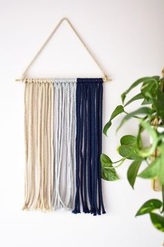 Whether your living space is boho chic or sleek and modern, macramé is a décor trend that's suited to any interior. This simple update...