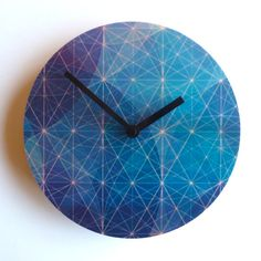 Objectify Astronomical Wall Clock by ObjectifyHomeware on Etsy