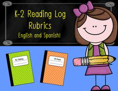 48 Hour FLASH FREEBIE  New English and Spanish Rubric Sets for literacy.  The sets are designed for K-2 learning logs or thoughtful logs.  The rubric sets feature a student-friendly version for self-assessment and a teacher-friendly version for grading purposes.  I have been using these rubrics all year and has really helped students improve their work quality and helped me maintain a high standard of grading fidelity.