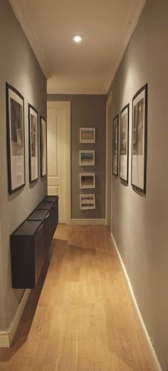 Small and narrow hallway styling (PHOTO GALLERY) - Building - - schön wohnen - Home decor ideas Interior Design Living Room, Modern Interior, Flur Design, Hallway Designs, Paint Colors For Home, Design Case, New Homes, House Design, Home Decor