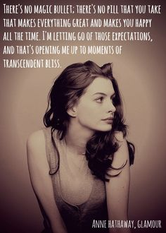 Anne Hathaway on #bodyimage #quote
