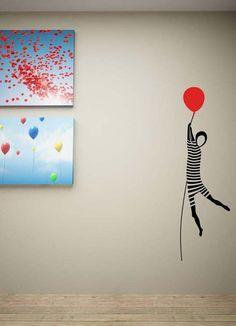 wall sticker mime autocolant decorativ pentru perete mim www.caiverzipepereti.com