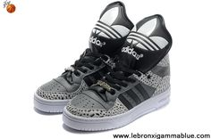 Buy Cheap Adidas X Jeremy Scott Big Tongue Shoes Grey Black Your Best Choice
