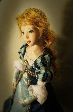 Beatrice. Handmade doll, OOAK Ooak Dolls, Art Dolls, Romantic, Disney Princess, Disney Characters, Unique, Handmade, Hand Made, Romance Movies