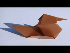 How to Fold an origami duck « Origami :: WonderHowTo