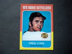 2001 Topps Archives #298 Fred Lynn Red Sox NM/MT