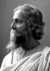 """Rabindranath Tagore ~ Poet & Philosopher. """"The butterfly counts not months but moments, and has time enough."""""""