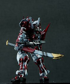 GUNDAM GUY: RG 1/144 Astray Red Frame Sengoku - Customized Build