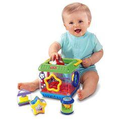 """Bloques - Descubre Formas - Marcas - Fisher Price - Juguetes de Bebé - Por Etapas de desarrollo - Motricidad y Coordinación - Babies""""R""""Us"""