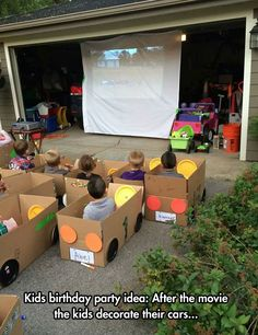 Kids' Drive-In Movie