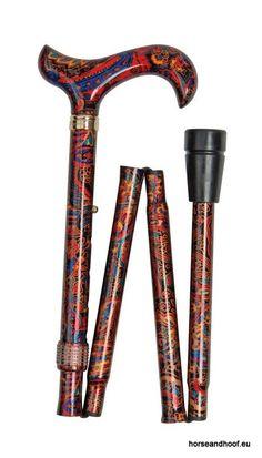 Classic Canes Fashion Folding Derby Stick - Set 2 3 A walking stick that is a…