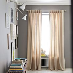 Benjamin Moore Chelsea Gray paint, HC-168.  Only if it's a room with a lot of natural light!