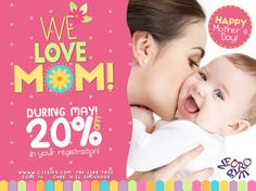 During MAY! Mom receives 20% off in registrations! #WelcomeToNeurokidzFamily PBX: 2388-7800 www.ctekidz.com