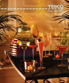 Our sparkling glassware is all you need to set the tone for elegant al fresco evenings beneath the stars. From an eye-catching honey pot dispenser centrepiece to classically shaped cocktail glasses and frosted champagne flutes, we have the accessories to impress every type of guest – and at great value too!