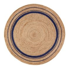 Shop for Jani Tara Blue Rings Jute Rug (8' Round). Get free shipping at Overstock.com - Your Online Home Decor Outlet Store! Get 5% in rewards with Club O!