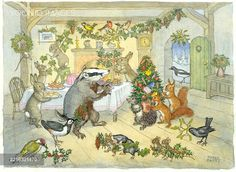 'Badger Brock Makes Merry' - Christmas time